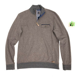 Ted Baker London L/S 1/2 Zip Pullover Sweater